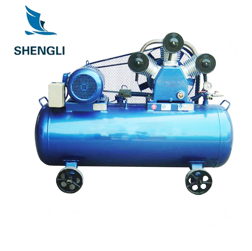 Manufacturer Direct Air Compressor Car Tire 220 V/380 V Industrial Household Spray Paint Copper Air Compressor