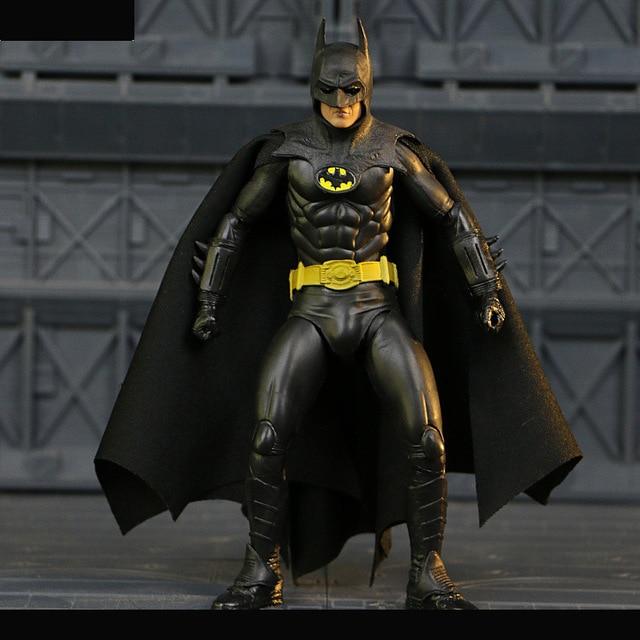 18 Cm de Super-heróis Batman O Cavaleiro Das Trevas 1989 Neca Figura de Ação Do Pvc Brinquedos Modelo Boneca Para Crianças Presentes de Natal