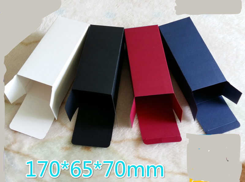 50pcs lot size 7 6 5 17cm Black White Red Colors Cardboard Box 350gsm Packing Sunglass