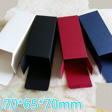 50pcs/lot size 7*6.5*17cm Black White Red Colors Cardboard Box 350gsm Packing Sunglass
