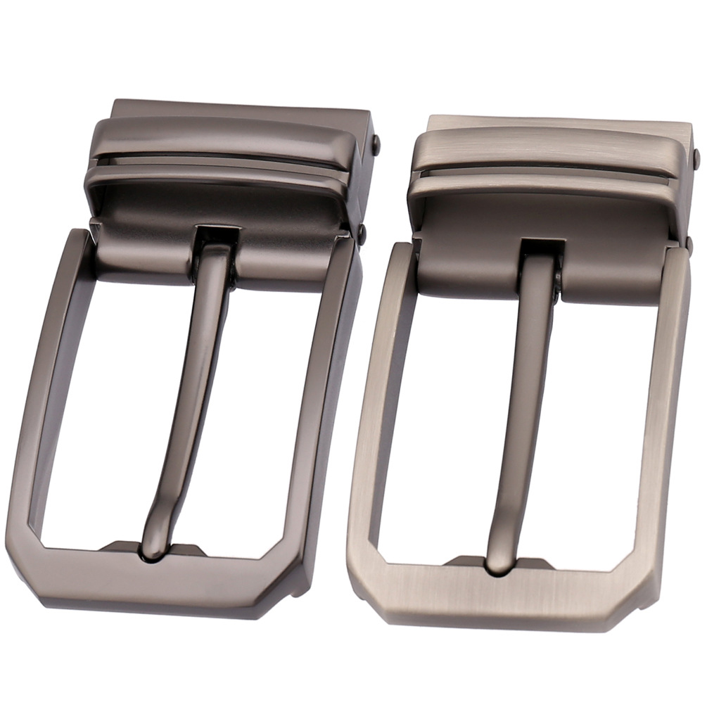 3.3-3.48cm Width Leather Belts Buckle Men Pin Buckle Male Belt High Quality Alloy Metal Belt Buckle Heads LY35-3557