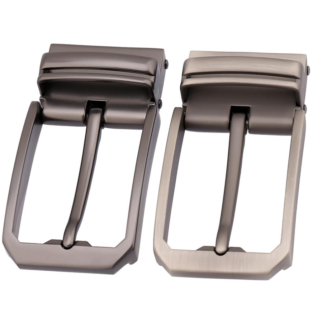 3.3-3.48cm Width Leather Belts Buckle Men Pin Buckle Male Belt High Quality Alloy Metal Belt Buckle Heads LY35-3557
