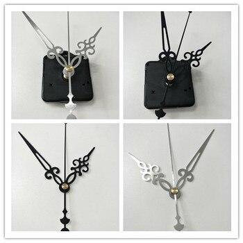 100sets fedex Two Color mechanism Quartz Clock Movement Kit Spindle Mechanism shaft 18.5mm with 3 hands/set Wholesale and Retail