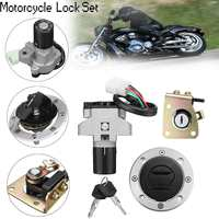 Motorcycle Ignition Switch Fuel Gas Cap Seat Lock Key for Suzuki GS500 89 00 GSX400 GK79A 94 99 NEW ARRIVAL