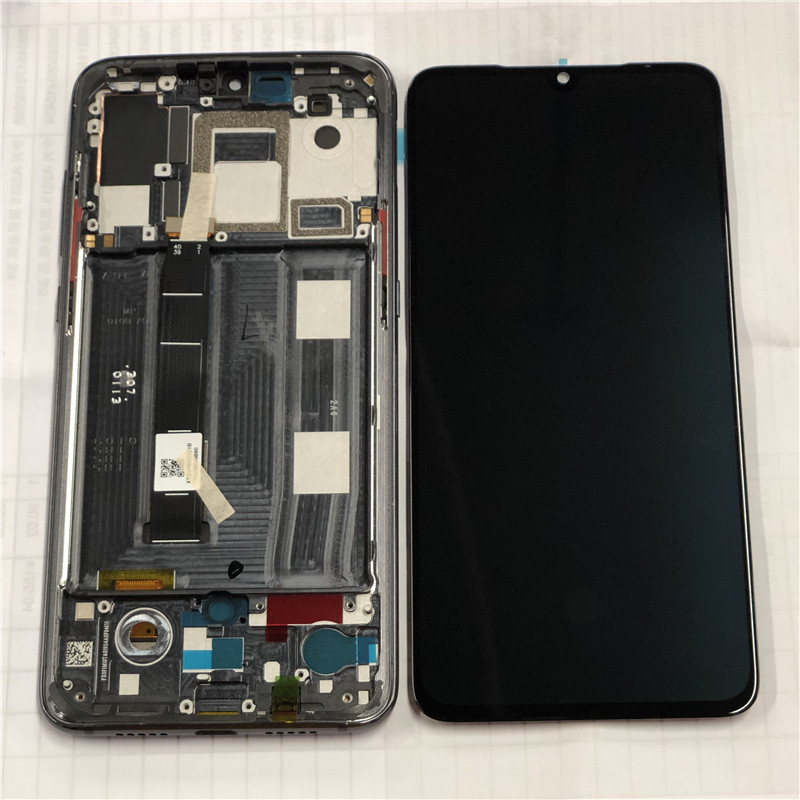 """Original M&Sen For 6.39"""" Xiaomi 9 Mi9 MI 9 AMOLED LCD Display Screen With Frame+Touch Panel Digitizer For 2340*1080 MI9 Display"""