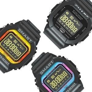 Image 2 - COXRY dikdörtgen akıllı saat spor saatler erkekler bilezik 2019 Smartwatch koşu kadınlar dijital elektronik kol saati saat alarmı