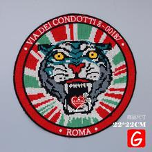GUGUTREE embroidery big tiger patches animal patches badges applique patches for clothing DX-61 gugutree embroidery big dragon patches animal patches badges applique patches for clothing dx 18