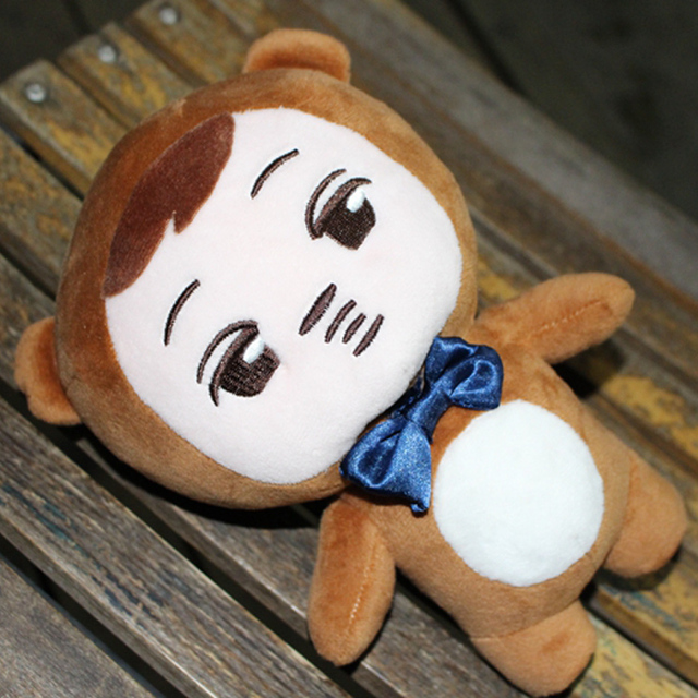 MYKPOP2018 Fashion Cute Kpop EXO KAI Bear Plush Toy Doll KPOP Fans Collection