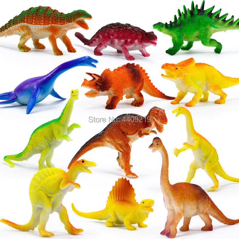 Image 5 - 21Styles Action&Toy Figures Model Brachiosaurus Plesiosaur Tyrannosaurus Dragon Dinosaur Collection Animal Collection Model Toys-in Action & Toy Figures from Toys & Hobbies