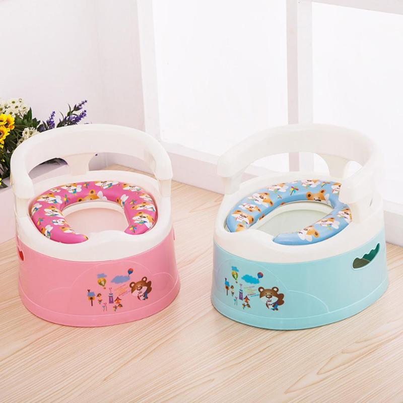 Multifunction Baby Toilet  Children Anti-skid Potty Toilet Training Seat Soft Cushion Toddler Urinal For Kids Gift