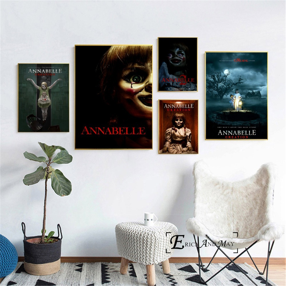 ANNABELLE FILM MOVIE METAL TIN SIGN POSTER WALL PLAQUE Home Decor Furniture DIY