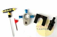 diesel EUI HEUI common rail injector nozzle disassemble tool clamp/HEUI common rail injector nozzle adapter for CAT C7C9 3126