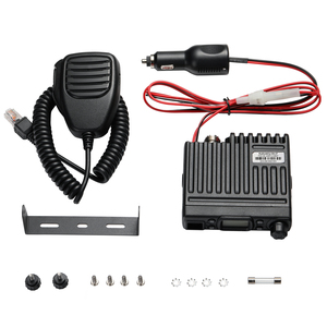 Image 5 - Radioddity CB 27 CB Radio Mobile 40 Channel AM Instant Emergency Channel 9/19 PA System RF Gain with Microphone License free