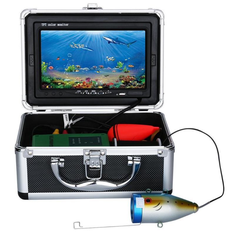 Moniteur de caméra vidéo de pêche sous-marine professionnel 15 m