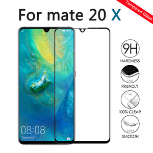 Image 2 - Tempered Glass For Huawei mate 20 X lite Screen Protector For huawei huawey Mate20 Lite mate 20x Protective Film Protection Glas