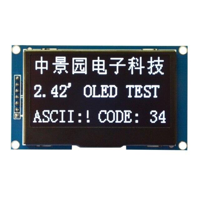 """2,42 """"12864 OLED Дисплей модуль IIC I2C SPI последовательный для C51 STM32 белый SSD1309"""