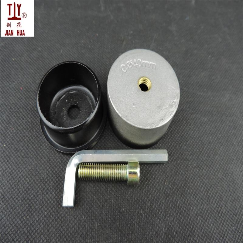 Free shipping golden welding nozzle welding parts 40mm die head Welding Mold PPR/PE/PB Water Pipe hotmelt butt welding