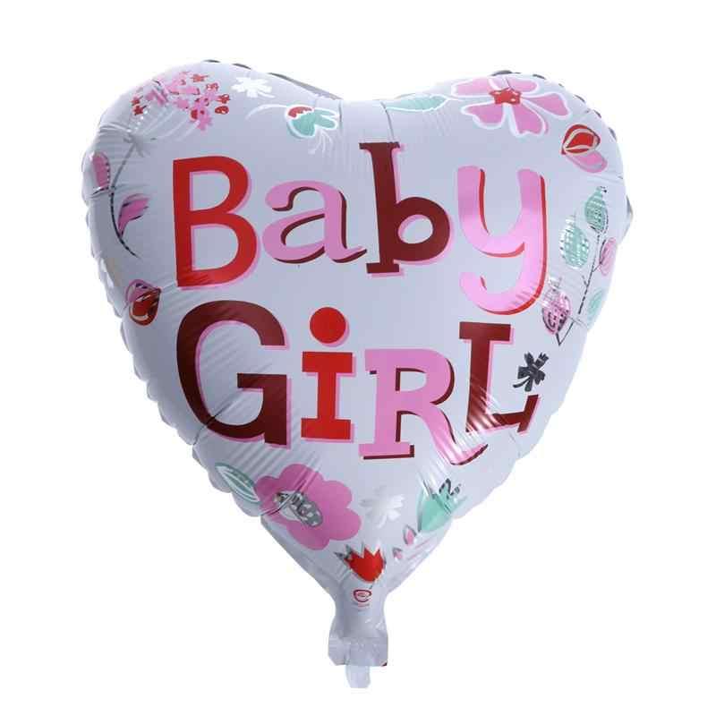 5 шт. 1шт. ST день рождения фольга воздушные шары для вечерние девочек рождения украшения для новорожденных девочек