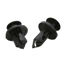 40Pcs/Lot 8mm/10mm Auto Fasteners Bumper Fender Mud Flap Mudguard Plastic Rivet Fixing Clip Cover Car Styling
