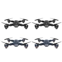 Mini RC Drone Helicopter Remote Control Folding Adult Kids Aircraft Toys Alloy Airplane Toys Electronic Toys Gifts for Children