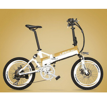 лучшая цена tb311103/20-inch electric car 36V aluminum alloy before and after the shock absorber lithium battery bike adult bike
