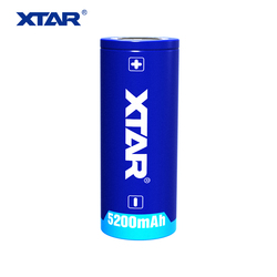 XTAR 26650 de 5200 mAh 3,6 V especialmente diseñado para alto rendimiento linternas batería recargable de Li-ion