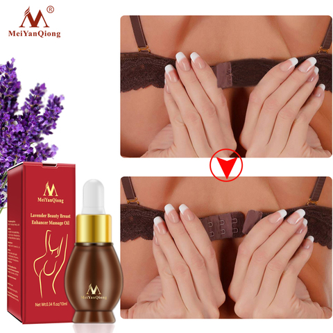 MeiYanQiong Natural Plant Breast Plump Essential Oil Breast Enhancer Treatment Massage Oil Lavender Breast Growth Essence TSLM1 Karachi