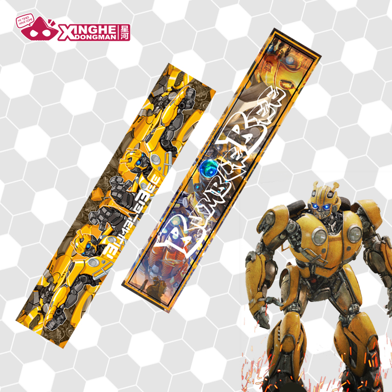 Milky Way Anime Bumble Scarf bee 2 Style Scarf Cosplay Costume Accessories Unisex Velvet Scarf Gift 190CM