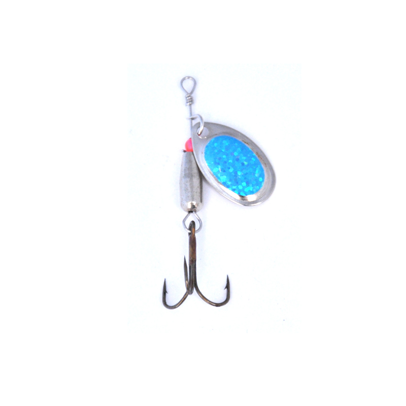 Image 4 - OLOEY 10 12g Spoon Bait Fishing Spinner Lures Metal Sequins Spoons Sets Artificial Hard Trout Treble Tackle-in Fishing Lures from Sports & Entertainment