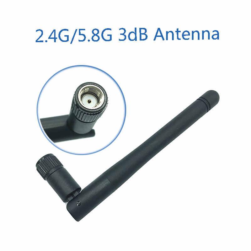 2.4 GHz 5.8 Ghz 5G wifi אנטנה 3dBi SMA נקבה מחבר Dual להקת 2.4 ghz 5.8G 5G wifi אנטנה נתב אלחוטי אנטנה
