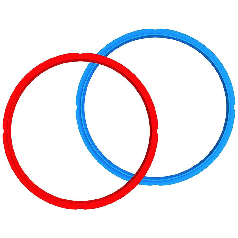 1 PCS Universal Silicone Pot Sealing Rings Instant Pot Replacement For 5&6L Electric Pressure Cookers Blue
