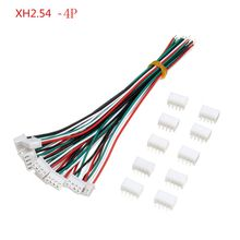 10 Sets Mini Micro JST XH2.54mm 6-Pin Connector Plug With Wi