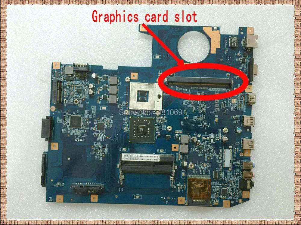48.4CD01.021 For ACER Aspire 7735 7738G 7735Z 7735ZG Laptop Motherboard MBPCA01001 JM70-MV  With Graphics Slot