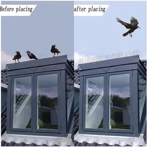 Image 4 - 1 đổi 1 15 CHIẾC Sâu Nhựa Chim và Bồ Câu Gai Chống Chim Chống Pigeon Spike Dành cho Loại Bỏ chim Bồ Câu và Dọa Chim