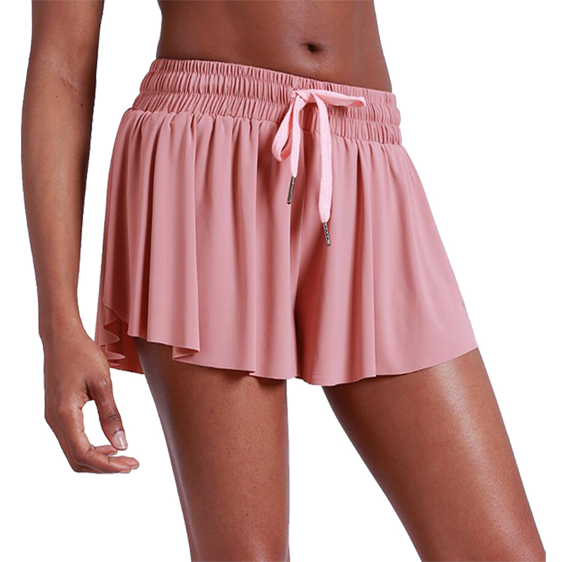 Women Newest Stylish Loose Quick Dry Soft Crossfit Tennis Skirt Cycling Gym Jogging Shorts