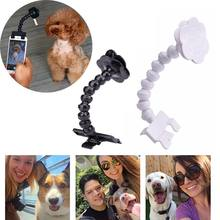 Pet Selfie Stick for Pets Dog Cat For iPhone Samsung Xiaomi Huawei and Most Smart phone Tablet Black/White Selfie Stick For Pets(China)