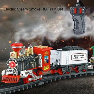 Electric Steam Smoke RC Track