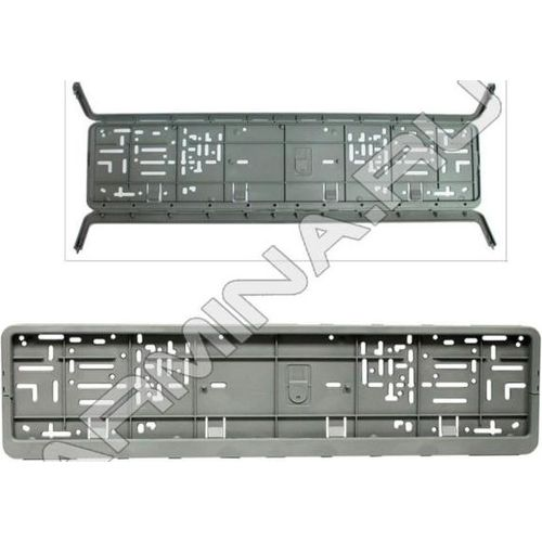 License plate frame ГЛАВДОР Euro with a snap-two прижима, +/-50 C, gray (53892) led acrylic light box frameless snap frame advertising brand showcase