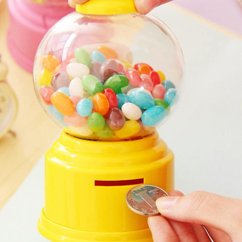 Jar Box-Bottle Toy-Machine Coin-Bank Candy-Box Bubble-Storage Gift Mini Kids Children