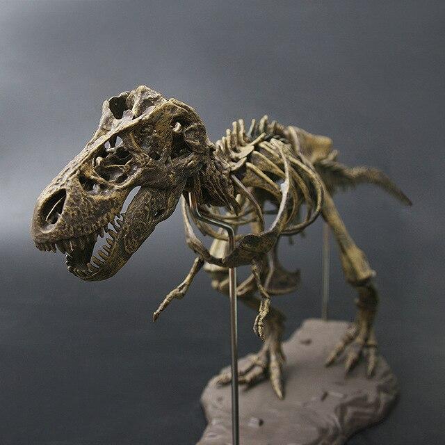 Antigo 70 cm 4D Montados Dinossauro Simulação Figuras de Animais Brinquedos Das Crianças do Dia Das Bruxas Do Crânio T-rex Casa Acessórios de Decoração