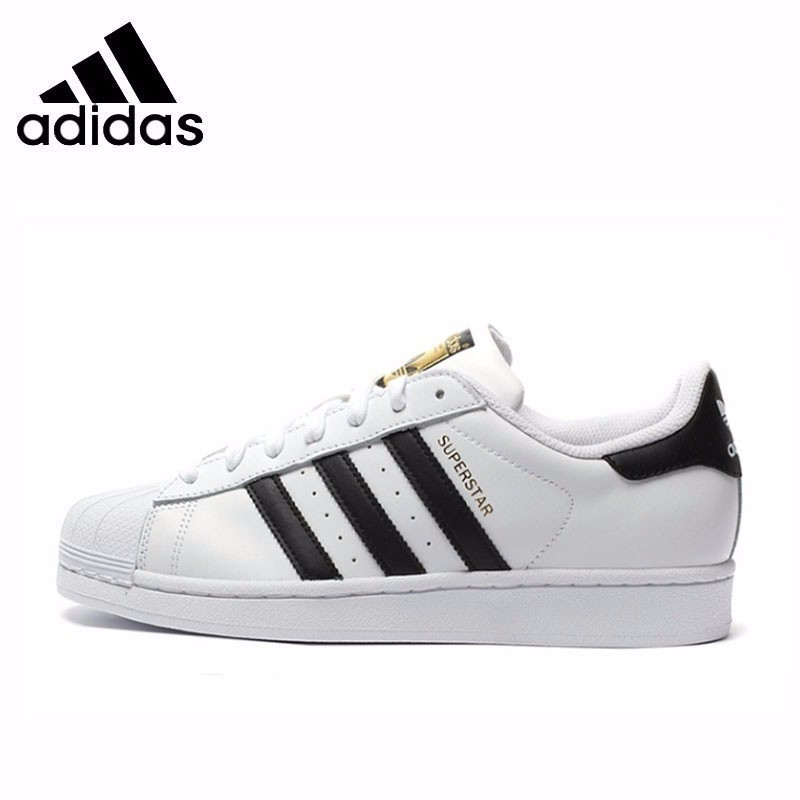 <font><b>Adidas</b></font> <font><b>Superstar</b></font> Men's <font><b>Original</b></font> Skateboarding Shoes Breathable Super Light Sneakers C77124 image