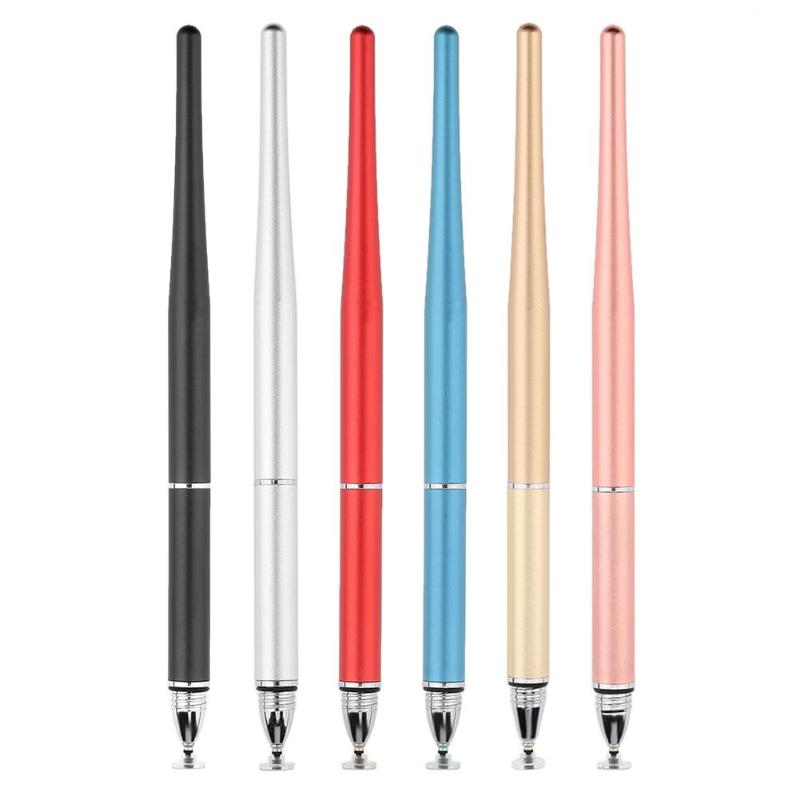Multifunction Fine Point Round Thin Tip Touch Screen Pen Capacitive Stylus Pen For Smart Phone Tablet For IPad For IPhone New
