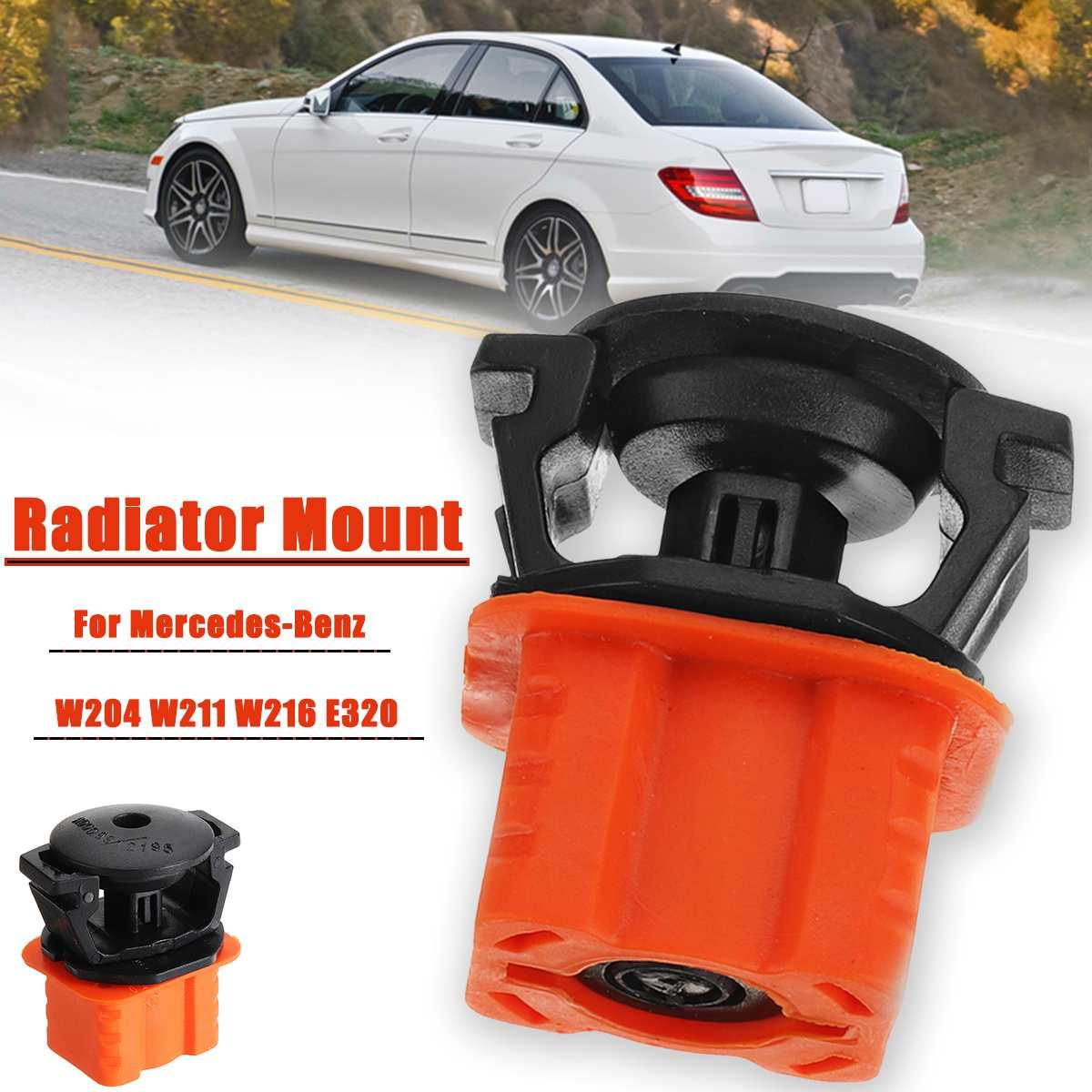La montura del radiador Kit Pin encaja para Benz W204 W211 W216 E320 1695040114, 2115040059