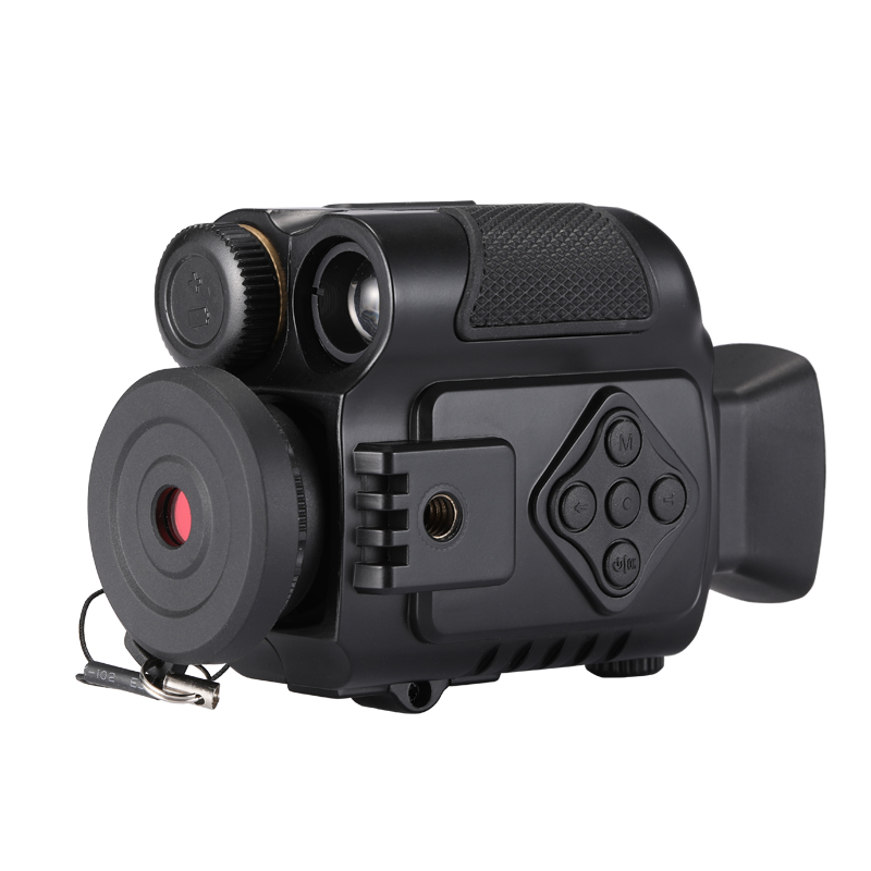 P4 0118 Digital Infrared Night Vision Mini Sport Action Cameras Monocular Camera 5X zoom for Day