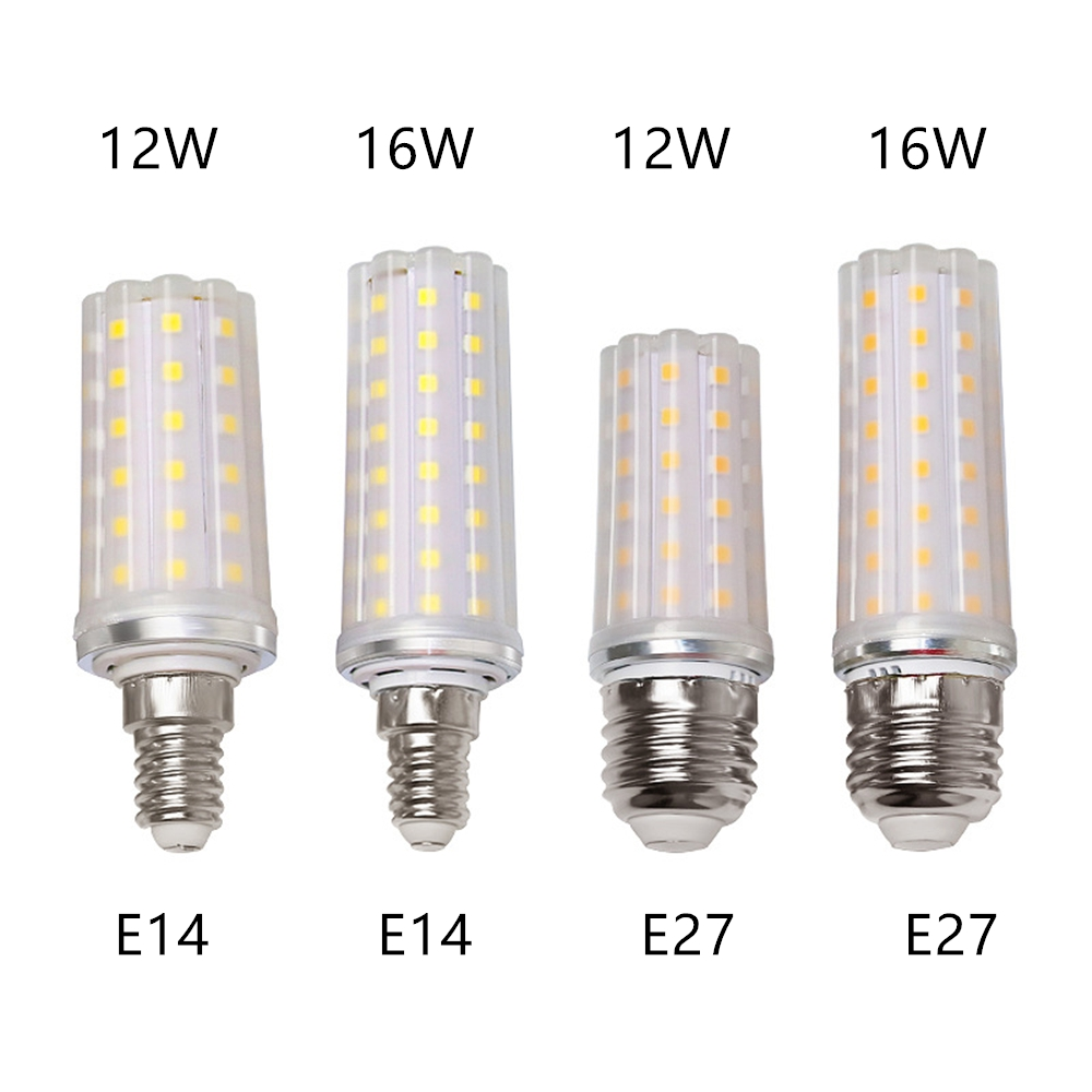 Led Bulbs & Tubes 16w Led Light Bulb E27 Corn Bulb For Table Lamp E14 Candle Bulb For Crystal Chandelier Ac90-260v Energy Saving Bulb Lamp Cheapest Price From Our Site