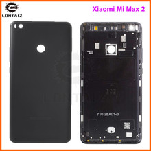 Ban đầu Nhà Ở Cho Xiao Mi Mi Max 2 Max2 Kim Loại Lưng Pin Điện Thoại Di Động Thay Thế Phần Ốp Lưng