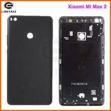 Boîtier dorigine pour Xiao mi mi Max 2 Max2 coque arrière en métal pour batterie
