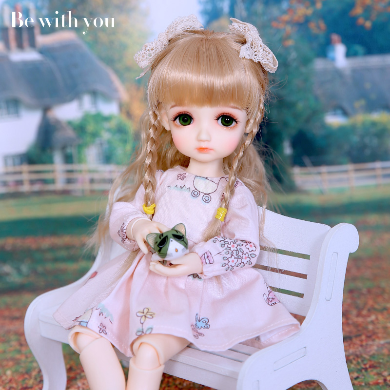 цена New arrival Oueneifs Be With You Cabbage BJD SD Doll 1/6 Resin Body Model Children High Quality Fashion Shop Sweeter Girl BWY