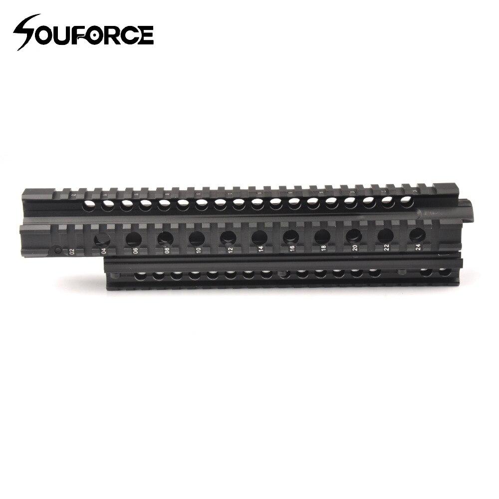 Tactical 29 5cm FN FAL Quad Rail Mounting System Picatinny Rail Handguard Aluminium L1A1 for Hunting