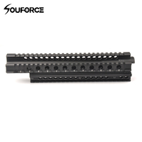 Tactical 29.5cm FN FAL Quad Rail Mounting System Picatinny Rail Handguard Aluminium L1A1 for Hunting